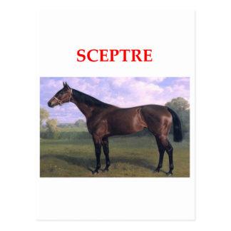 Carte Postale scepter