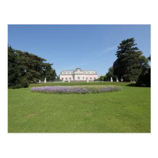 Carte Postale Schloss Benrath - vue de parc