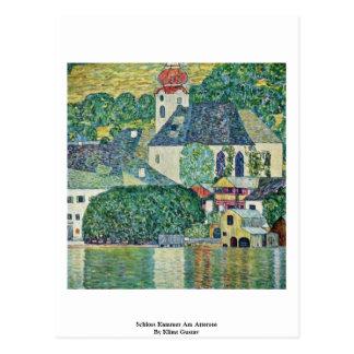 Carte Postale Schloss Kammer AM Attersee par Klimt Gustav