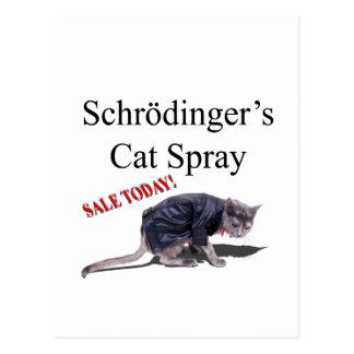 Carte Postale Schrodingercat
