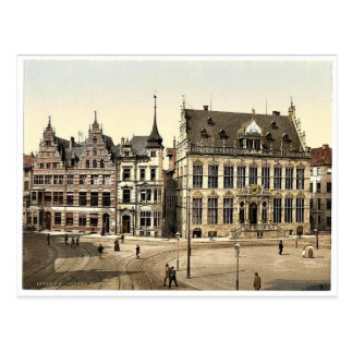 Carte Postale Schutting, Brême, Allemagne Photochrom rare