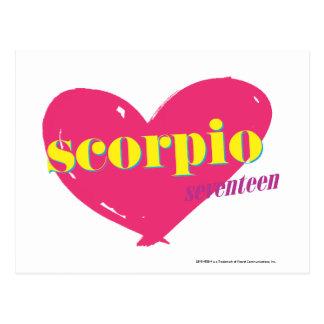 Carte Postale Scorpion