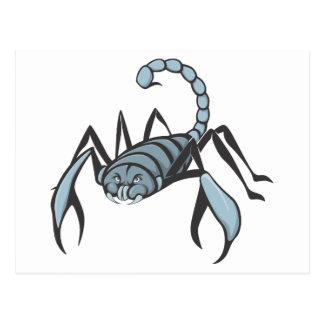 Carte Postale Scorpion sérieux