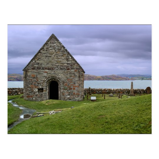 Carte Postale Scotland (U.K.) - St Oran's Chapel Iona