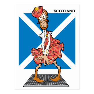 Carte Postale Scotsman vrai ?