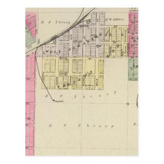 Carte Postale Scranton, le comté d'Osage, le Kansas