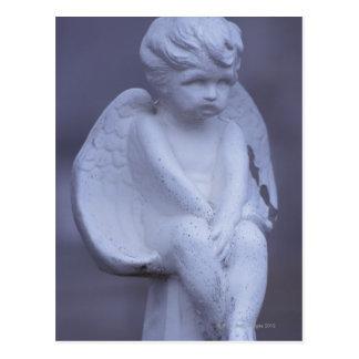 Carte Postale Sculpture en ange