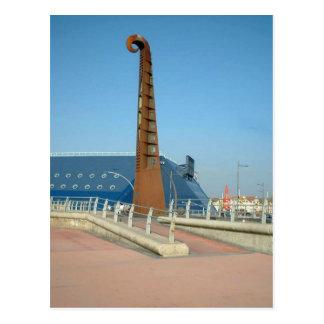Carte Postale Sculpture en guitare, Blackpool