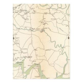 Carte Postale Se la Virginie, pi Monroe, s'approche à Richmond
