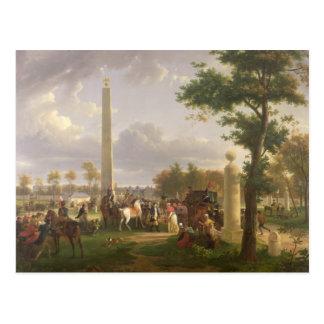 Carte Postale Se réunir entre le napoléon I et le pape