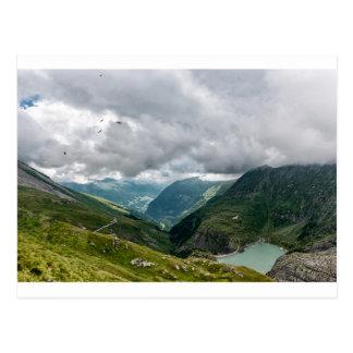 Carte Postale Sec de vallée de Grossglockner