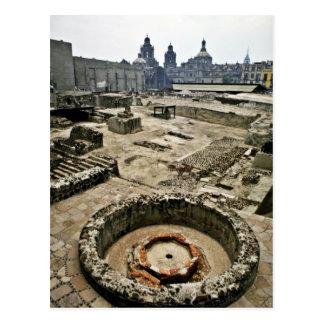 Carte Postale Secteur cérémonieux de maire de Templo, Mexico