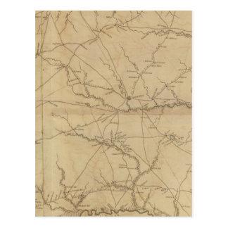 Carte Postale Secteur de Barnwell, la Caroline du Sud