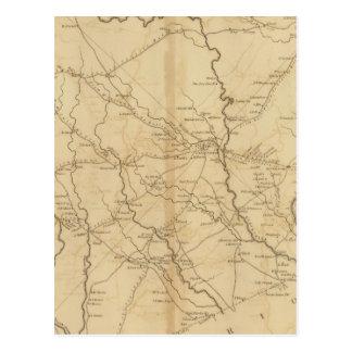 Carte Postale Secteur de Darlington, la Caroline du Sud