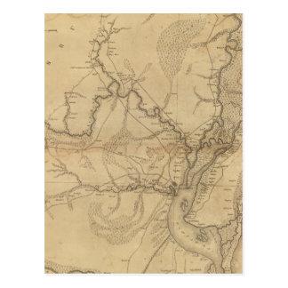 Carte Postale Secteur de Georgetown, la Caroline du Sud