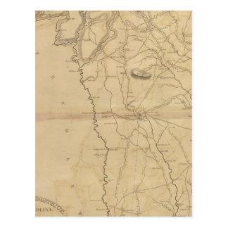 Carte Postale Secteur de Greenville, la Caroline du Sud