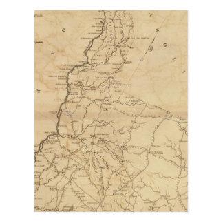 Carte Postale Secteur de Lancaster, la Caroline du Sud