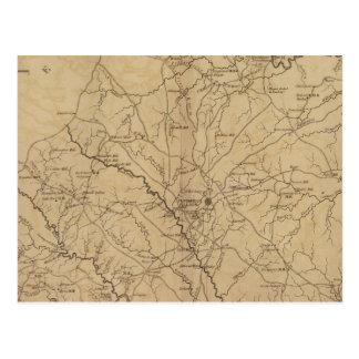 Carte Postale Secteur de Newberry, la Caroline du Sud