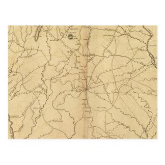 Carte Postale Secteur de York, la Caroline du Sud