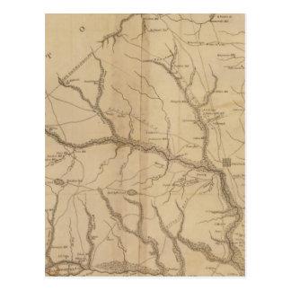 Carte Postale Secteur d'Orangeburgh, la Caroline du Sud