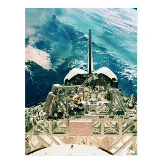 Carte Postale Section de queue de navette spatiale