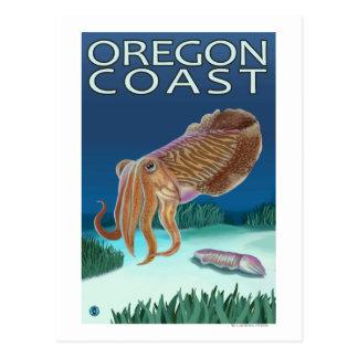 Carte Postale Seiches de côte de l'Orégon