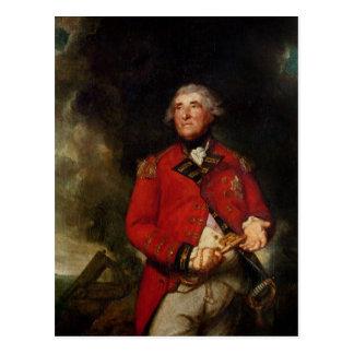 Carte Postale Seigneur Heathfield Governor du Gibraltar
