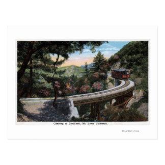 Carte Postale S'élever à la vue de Cloudland