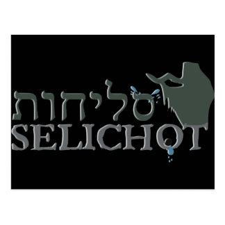 Carte Postale Selichot