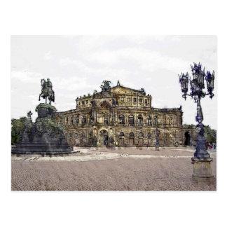 Carte Postale SEM-opéra Dresde