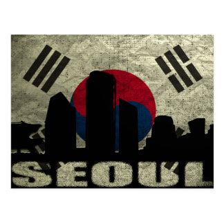 Carte postale Séoul