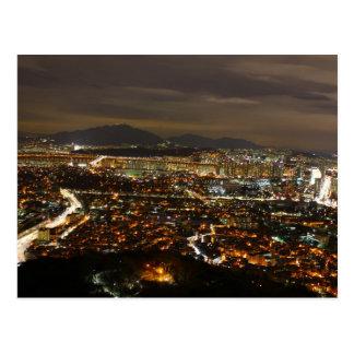Carte Postale Séoul Corée