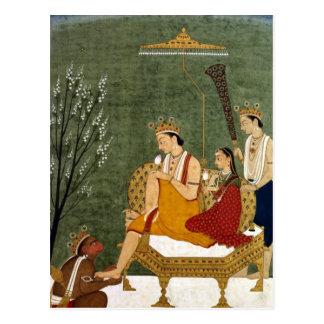 Carte Postale Septième incarnation de Vishnu comme Rama-Chandra