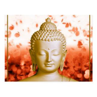 Carte postale sereine de Bouddha