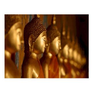 Carte Postale Sérénité de tranquilité de paix de Bouddha
