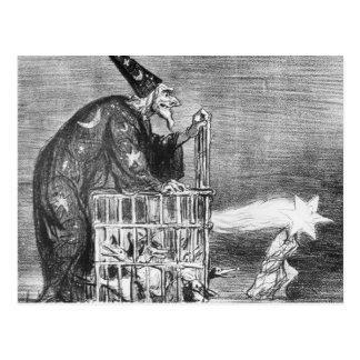 Carte Postale Série 'de La Comete De 1857 '
