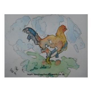 """Carte Postale Série denteuse - """"poulet à la ferme"""" 2010, WWW…"""