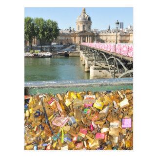 Carte Postale Serrures d'amour