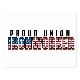 Carte Postale Serrurier des syndicats