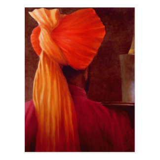 Carte Postale Serveur de vin chez le Taj