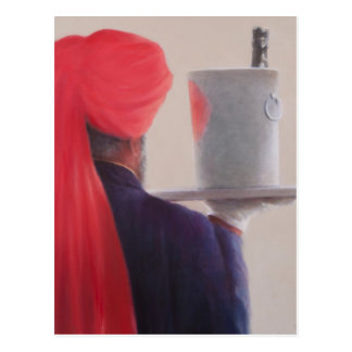 Carte Postale Serveur de vin Jaipur 2012