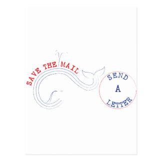 Carte Postale Service de mini-messages ? Puh-bail