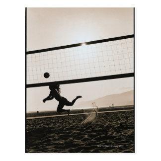 Carte Postale Service de volleyball