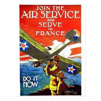 Carte Postale Service en France