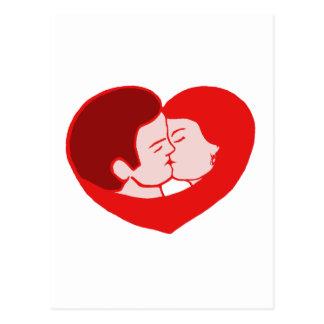 Carte Postale sexy love