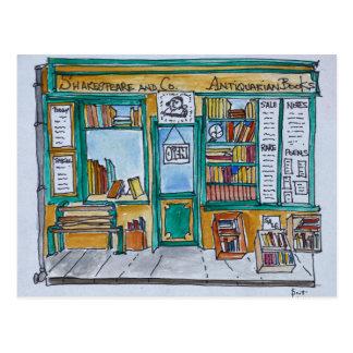 Carte Postale Shakespeare et librairie | la Seine, Paris de Cie.