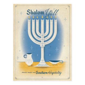 Carte Postale Shalom vous