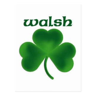 Carte Postale Shamrock de Walsh