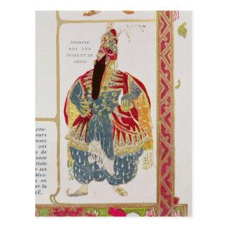 Carte Postale Shariar, roi des Indes et de la Chine