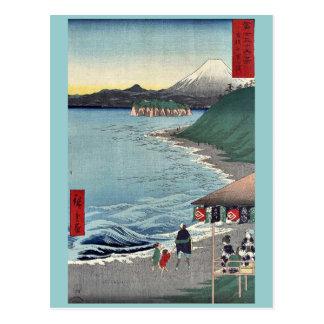 Carte Postale Shichirigaham par Ando, Hiroshige